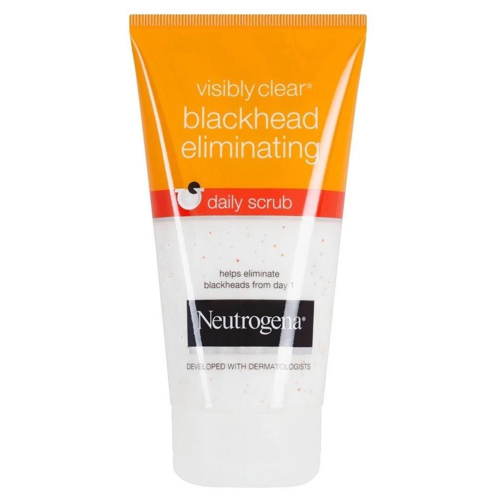 Neutrogena–Visibly Clear DESINCRUSTANT schwarze Punkte creme Reinigungstuch 150ml 6021962 B000T963QM