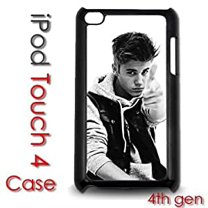 For SamSung Note 3 Case Cover gen Touch Plastic Case - Justin Bieber Fever Vintage Black and White