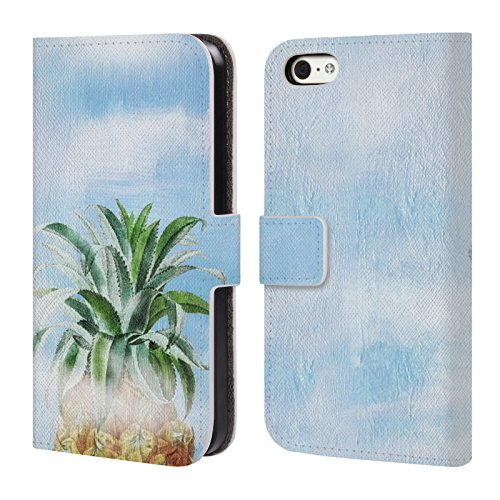 Heaven 6 Pear Pineapple Book Official 6s Heaven Case Belle For Apple Paula Leather Summer iPhone Wallet Cover Flores T6xwCAqxp