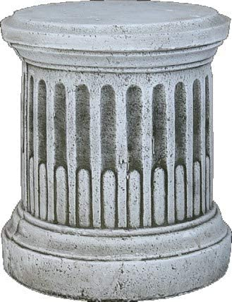 DEGARDEN Pedestal Columna de hormigón-Piedra para jardín o Exterior 35X42cm.: Amazon.es: Jardín