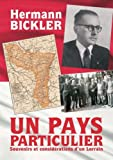 Book cover image for Un pays particulier (French Edition)
