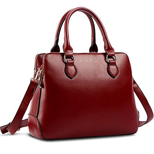 Handbags Satchel Shoulder Leather Fashion