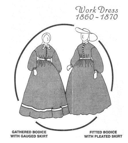 ladies dresses 1870 - 3