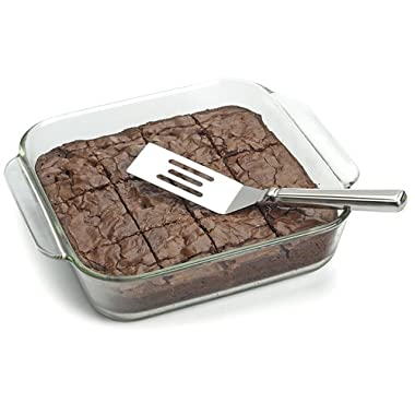 Anne Marie's 18/8 Stainless Steel Brownie Spatula (1, 18/8)