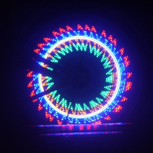 Docooler® Colorful Bicycle Bike Cycling Wheel Spoke Light 32 LED 32 pattern Waterproof