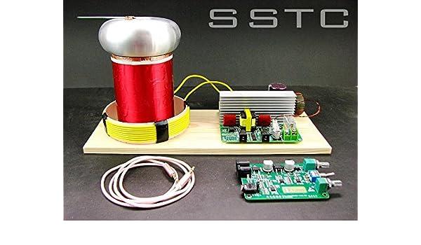 Amazon com: TINY SSTC MIDI Music Tesla Coil Solid-state