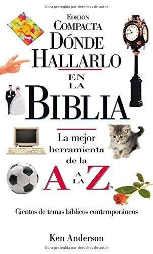 Download Donde Hallarlo en la Biblia: La Mejor Herramienta de la A a la Z (Spanish Edition) ebook