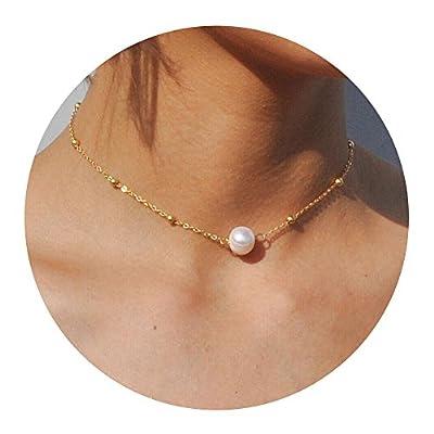 Artilady layer opal choker necklace for women ¡