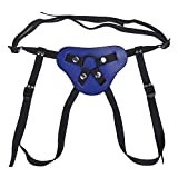Pu Leather Sexy Adjustable Thong-Style Strap-On Harness with O-Ring for Dildo Vibrator JA213#