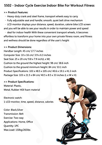 Vertical Climber Stepper Exercise Machine Indoor Cycling Exercise Bike Upright Exercise Bike with Resistance Aerobic Stepper US Stock