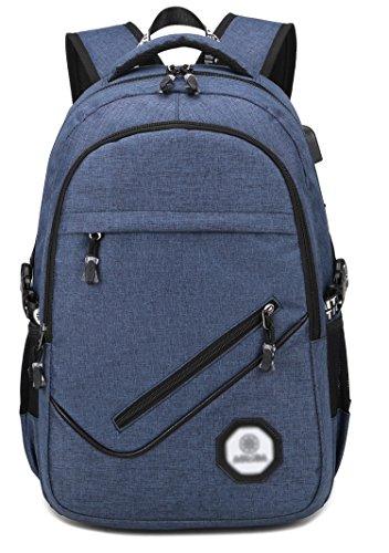 water-resistant-polyester-laptop-backpack-kolako-lightweight-travel-bag-casual-slim-college-computer