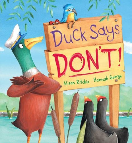 Duck Says Don't! pdf