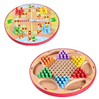 Kayiyasu カイヤス おもちゃ 星型 チェッカー ダイヤモンドゲーム 両面 知育玩具 021-lzgy-d-107(直径30cm 約900g)の商品画像