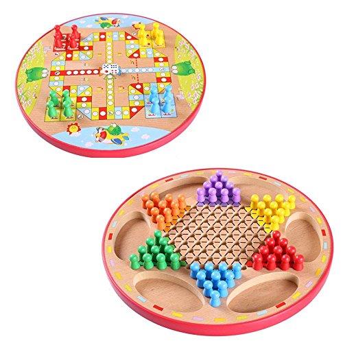 Kayiyasu カイヤス おもちゃ 星型 チェッカー ダイヤモンドゲーム 両面 知育玩具 021-lzgy-d-107(直径30cm 約900g)