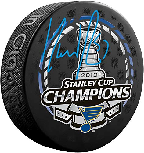 David Perron St. Louis Blues 2019 Stanley Cup Champions Autographed Stanley Cup Champions Logo Hockey Puck - Fanatics Authentic Certified (Autographed Stanley Cup Hockey Puck)