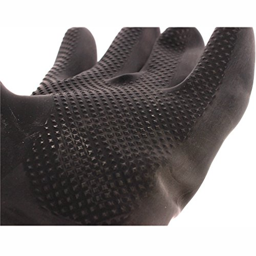 60CM Latex Industrial Gloves Lengthened Acid Wear Thick Long Rubber Gloves by Fastrider (Image #3)