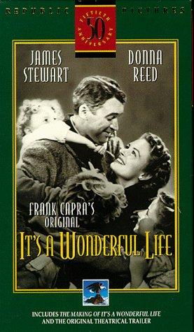 Amazon Com Its A Wonderful Life Vhs James Stewart Donna Reed Lionel Barrymore Thomas Mitc Henry Travers Beulah Bondi Frank Faylen Ward Bond