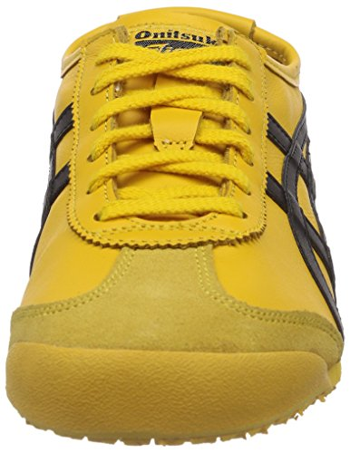 Mixte black Tiger Onistuka Basses Adulte Jaune yellow 66 Sneakers Mexico PgFwf