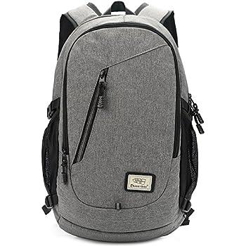 Slim Laptop Backpack 15.6 Inch Business Computer Bag College School Rucksack with USB Port