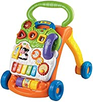 VTECH 80-077001 Sit-to-Stand Learning Walker (Frustration Free Packaging) Orange