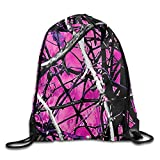MPOD Muddy Girl Camo Drawstring Backpack Bag