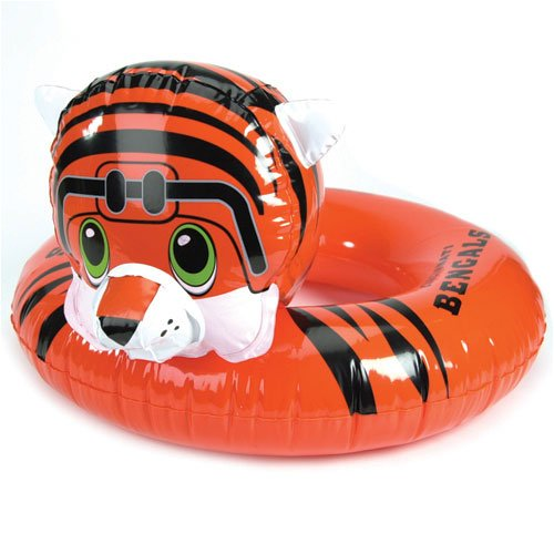 SC Sports NFL 3-6 Years Inflatable Mascot Inner Tube NFL Team: Cincinnati - Team Nfl Pool Floats