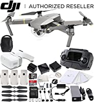 DJI Mavic Pro Platinum FLY MORE COMBO Collapsible Quadcopter + DJI Goggles Virtual Reality VR FPV POV Experience Bundle