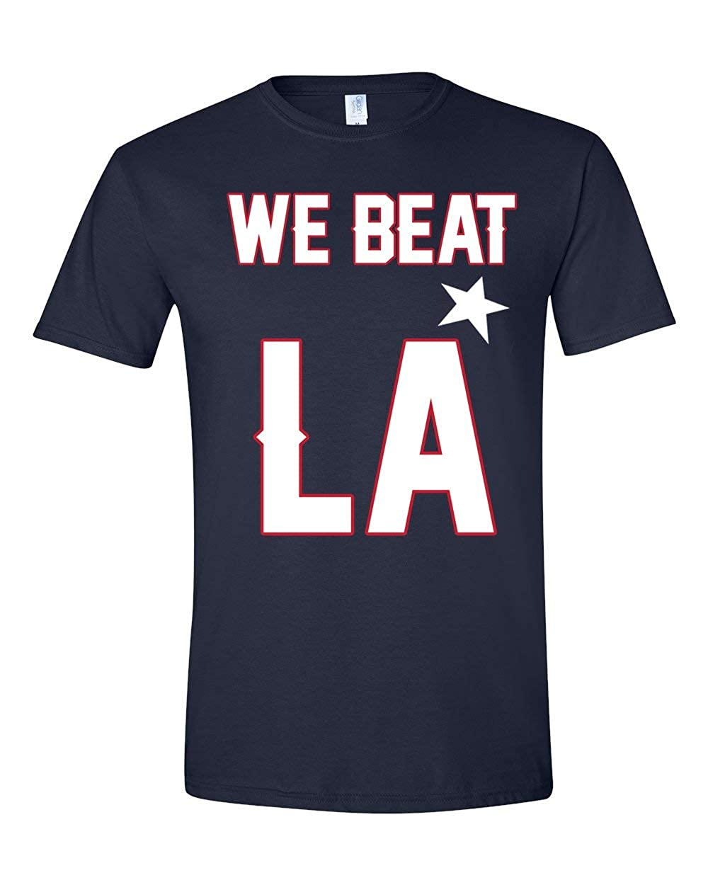 09f490a6 We Beat LA New England Patriots Super Bowl 53 T Shirts LIII Graphic ...