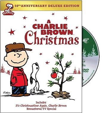 Charlie Brown Christmas 50th.Amazon Com A Charlie Brown Christmas 50th Anniversay Deluxe
