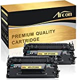 Arcon 2 Packs Compatible for HP 26X CF226X 26A CF226A MFP M426dw Toner Cartridge for HP LaserJet Pro MFP M426dw, MFP M426fdw, M426fdn, LaserJet Pro M402dn, M402n, M402d, M402dw Printer Toner Cartridge