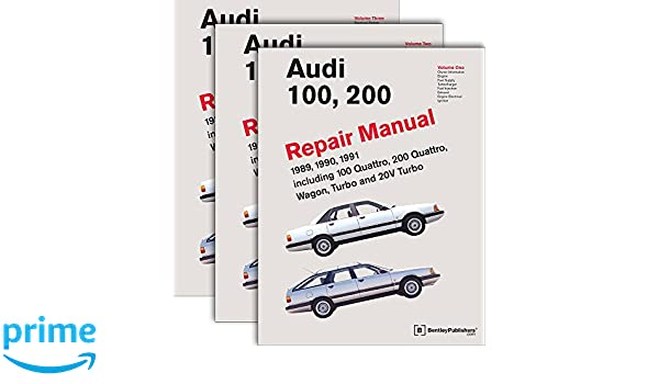 Audi 100, 200 Repair Manual--1989-1991: Including 100 Quattro, 200 Quattro, Wagon, Turbo and 20-Valve Models: Pt. 1: Amazon.es: Audi of America: Libros en ...