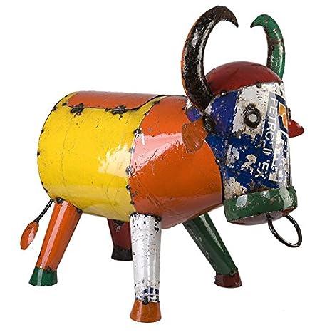 Bruce el toro acero reciclado Cooler con ruedas (Tamaño Grande)