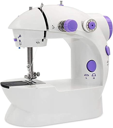 LIIYANN Mini máquina de Coser, Enchufe de máquina de Coser ...
