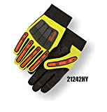 (12 Pair) Majestic ARMORSKIN PALM GLOVES WITH KNUCKLE & FINGER GUARDS - XTRA LARGE(21242HY/11)