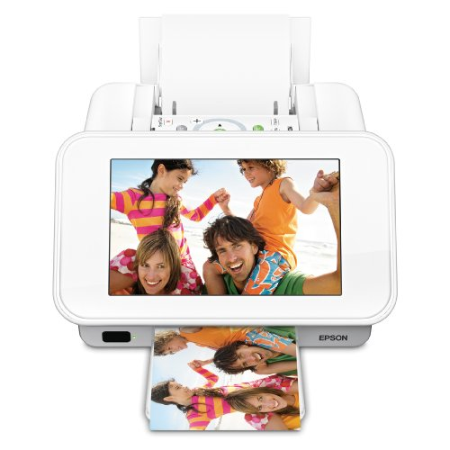 Epson PictureMate Show Photo Printer and Digital Photo Frame (C11CA54203) -