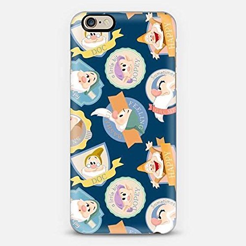 Cover 7 nani Biancaneve Iphone 6/6S - Iphone 6 ed Iphone 6S - Case Iphone Snowhite