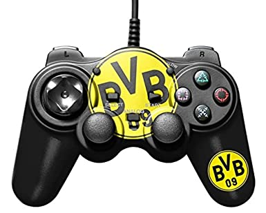 Bigben Interactive Borussia Dortmund Gamepad - Volante/mando (Gamepad, Alámbrico, 2 m