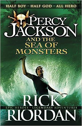 Resultado de imagen de percy jackson and the sea of monsters book