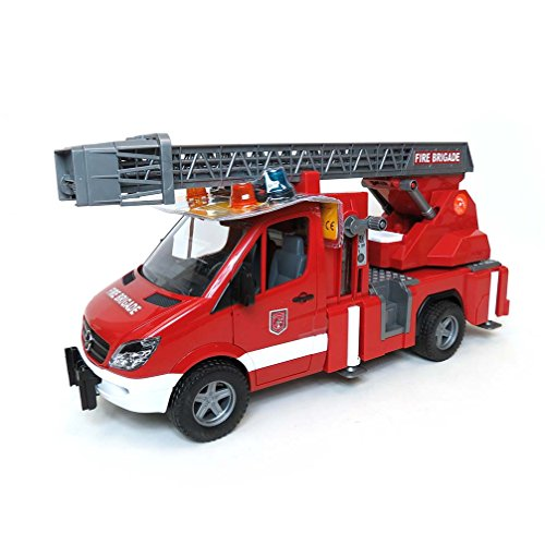 Bruder MB Sprinter Fire Engine with Ladder Water Pump and Light/Sound Module