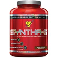 Deals on 2-Pack BSN Syntha-6 Protein Powder Chocolate Milkshake 5 Lb