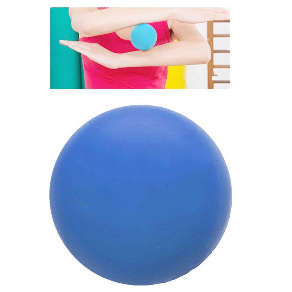Demarkt Lacrosse Ball Massageball zur Selbstmassage Silikon Orange