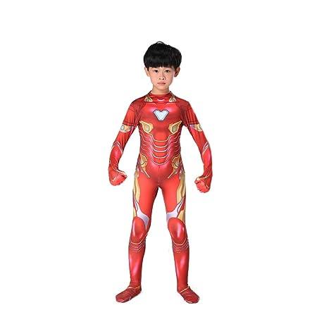 CHXY Iron Man NiñO Adulto Ropa Cosplay Vestido Halloween Navidad ...