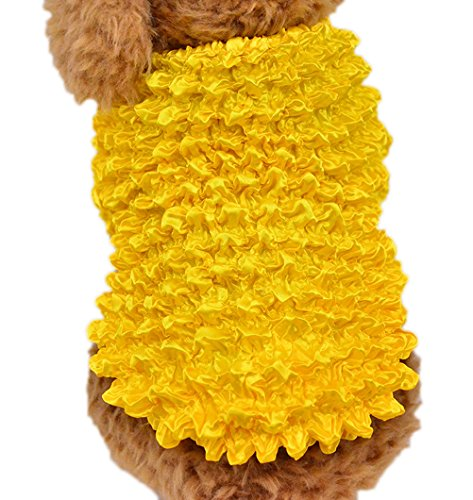 Ranger Yellow Original Costume Power (Uniquorn 2017 Spring Summer New Pet Clothes Personality Interesting Pet Magic Shirt Breathable And Comfortable Cat Dog)