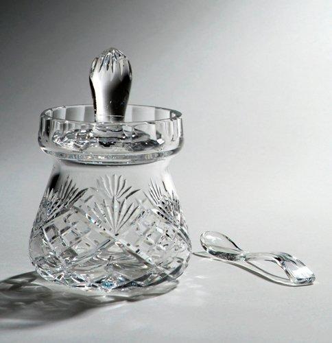 Crystal Honey / Jam Jar with Spoon, Knightsbridge 1 SGS