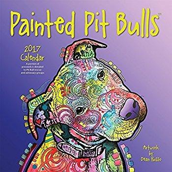 Painted Pit Bulls 2017 Calendar