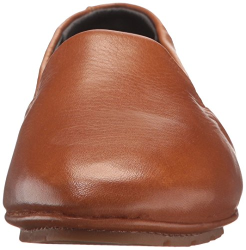 Slip Medium Kenneth Leather Jordyn York Women's New Cole Brown on Moccasin Flat vvYFq1H