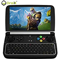 [August HW Update] GPD Win 2 - Mini Gaming Handheld Console Windows 10 Intel m3-7Y30 2.6Ghz HD Graphics 615 8GB LPDDR3-1866 RAM 128 M.2 SSD Dual-Band Wi-Fi Bluetooth 4.2 6' inch Touchscreen