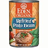 Refried Pinto Beans Organic - Bpa Free Lined Can (Pack of 12)