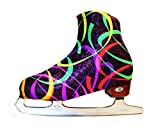 Ice Skate Boot Covers (Fluorescent Ribbon)