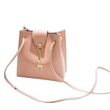 186eeea77e61 Clearance! Women Shoulder Bags, Neartime 2018 Fashion Solid Deer Cover  Crossbody Bag Bucket...